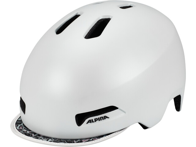 Alpina Brooklyn Helmet pearl white matt
